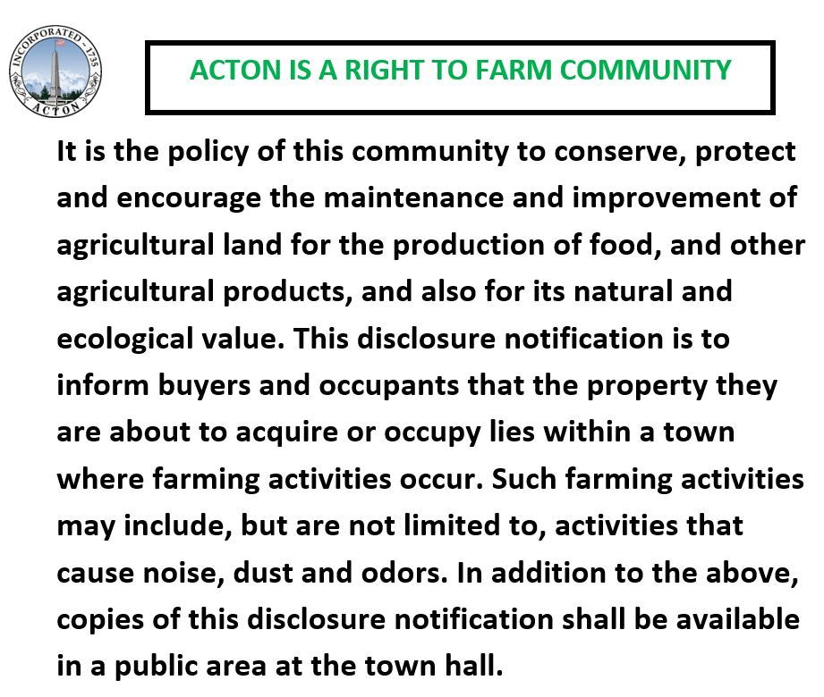 Right to Farm Flyer