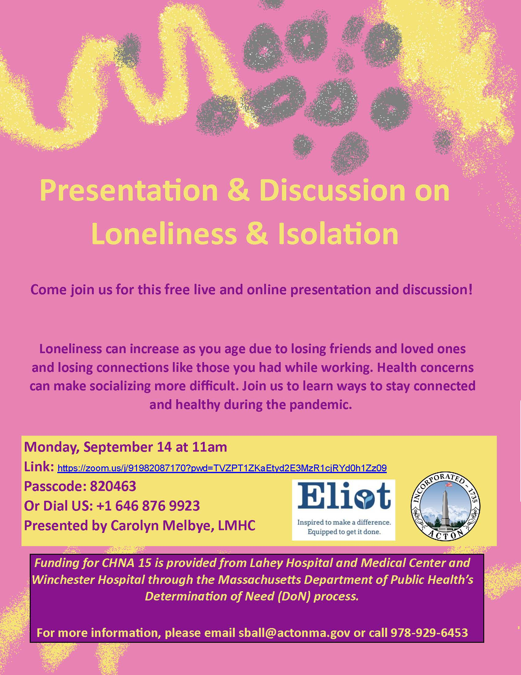 Presentation Discussion on Loneliness Social Isolation_