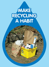 Make recycling a habit